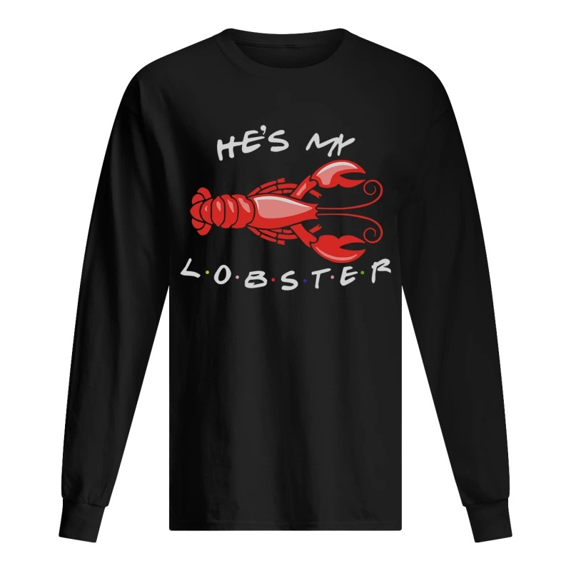 He's My Lobster Longsleeve Tee