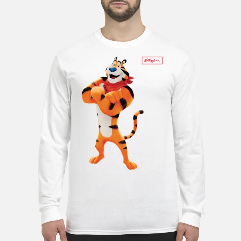 Kellogg's Retro Tony The Tiger Longsleeve Tee Collection