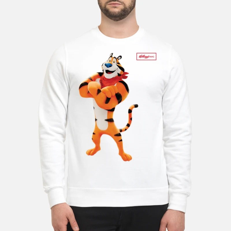 Kellogg's Retro Tony The Tiger Sweater CollectionKellogg's Retro Tony The Tiger Sweater Collection
