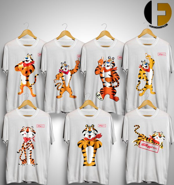 Kellogg's Retro tony the tiger t shirt collection
