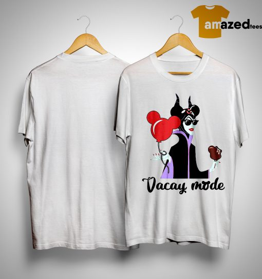 Maleficent Mickey Vacay Mode Shirt