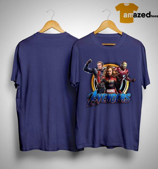 Marvel Captain Iron Man Wonder Woman Avengers Endgame Shirt