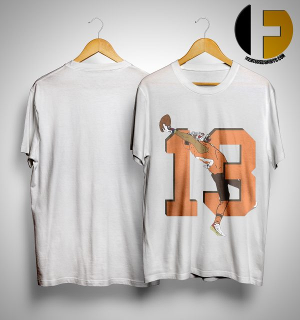 Odell Beckham Jr Browns 13 Catch Shirt