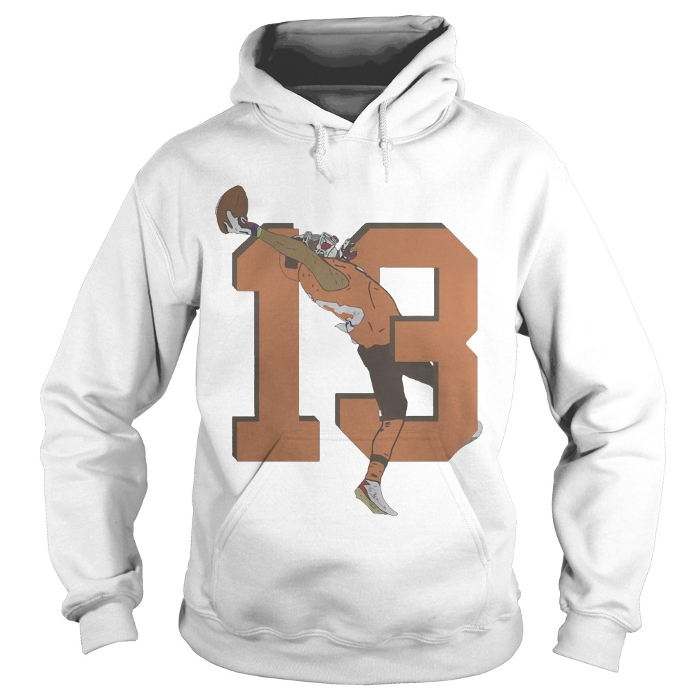 Odell Beckham Jr. Browns 13 Catch Hoodie