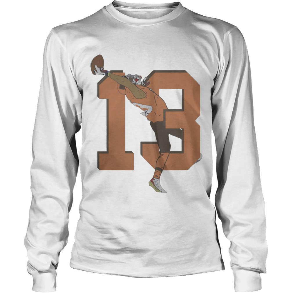 Odell Beckham Jr. Browns 13 Catch Longsleeve Tee