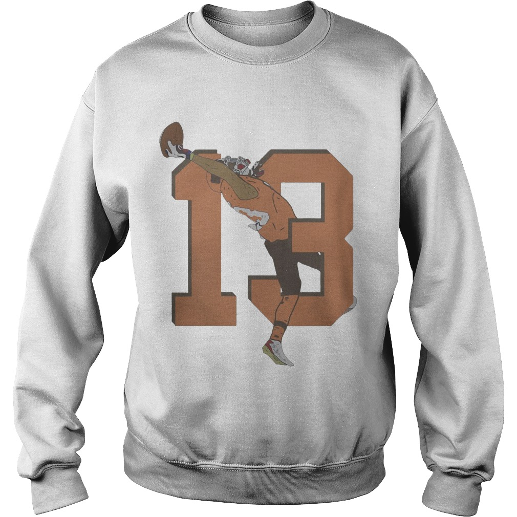 Odell Beckham Jr. Browns 13 Catch Sweater