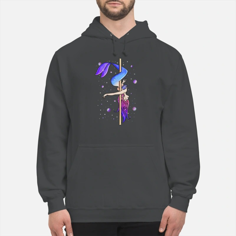 Pole Dancing Mermaid Hoodie