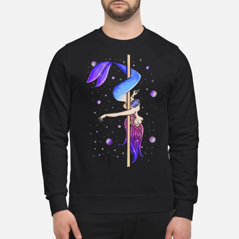 Pole Dancing Mermaid Sweater