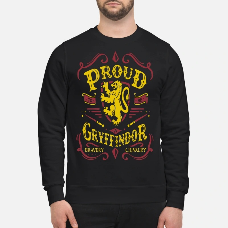 Proud To Be A Gryffindor Bravery Chivalry Sweater