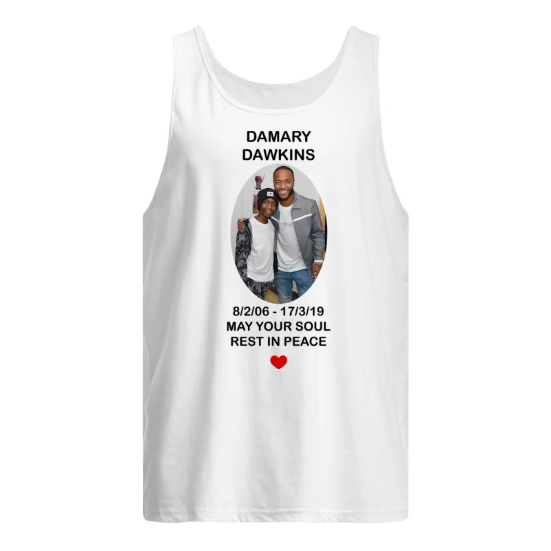 Raheem Sterling Damary Dawkins Tank Top