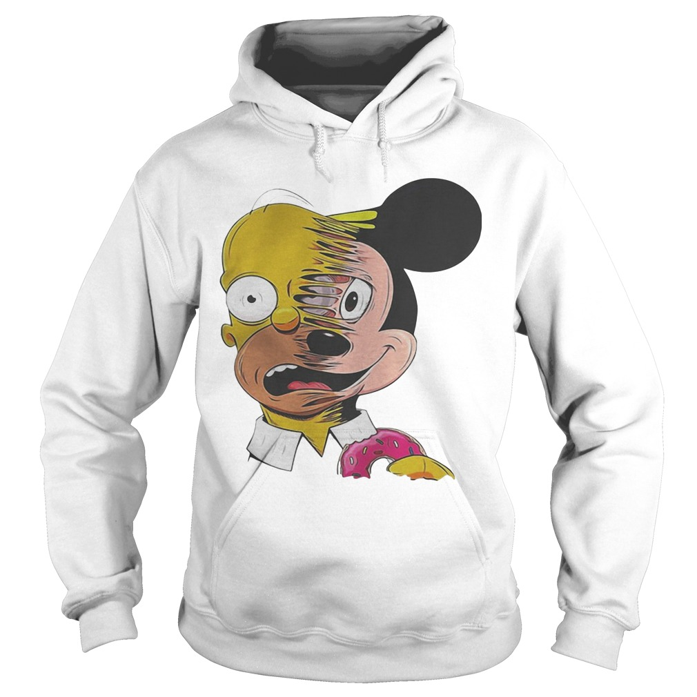 Simpsons Mickey Mouse Hoodie