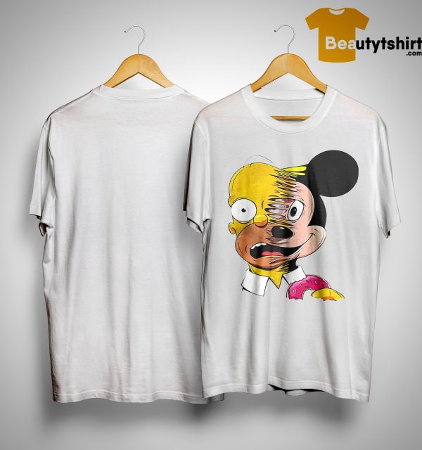Simpsons Mickey Mouse Shirt
