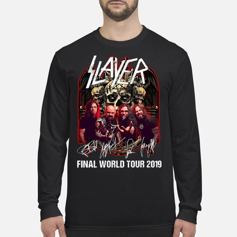 Slayer Final World Tour 2019 Longsleeve Tee