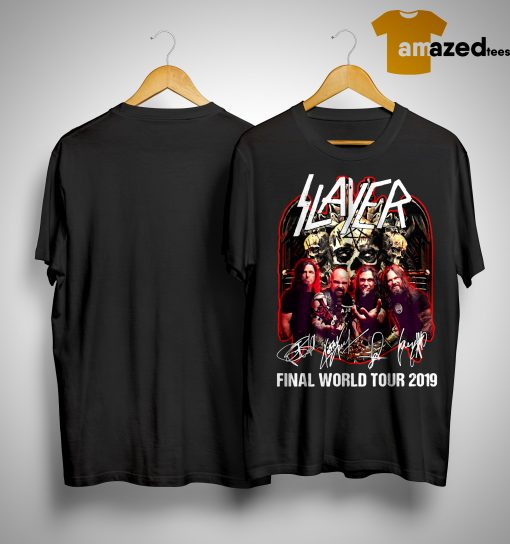 Slayer Final World Tour 2019 Shirt