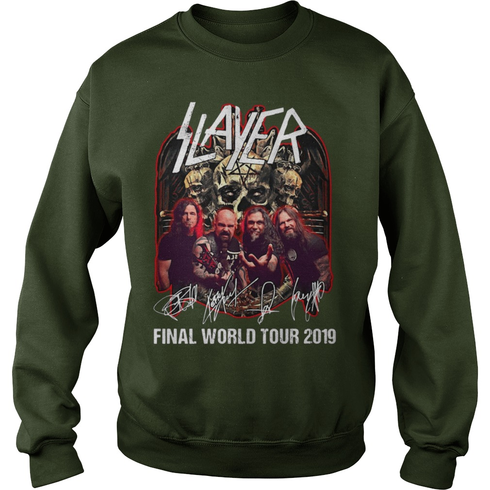 Slayer Final World Tour 2019 Sweater
