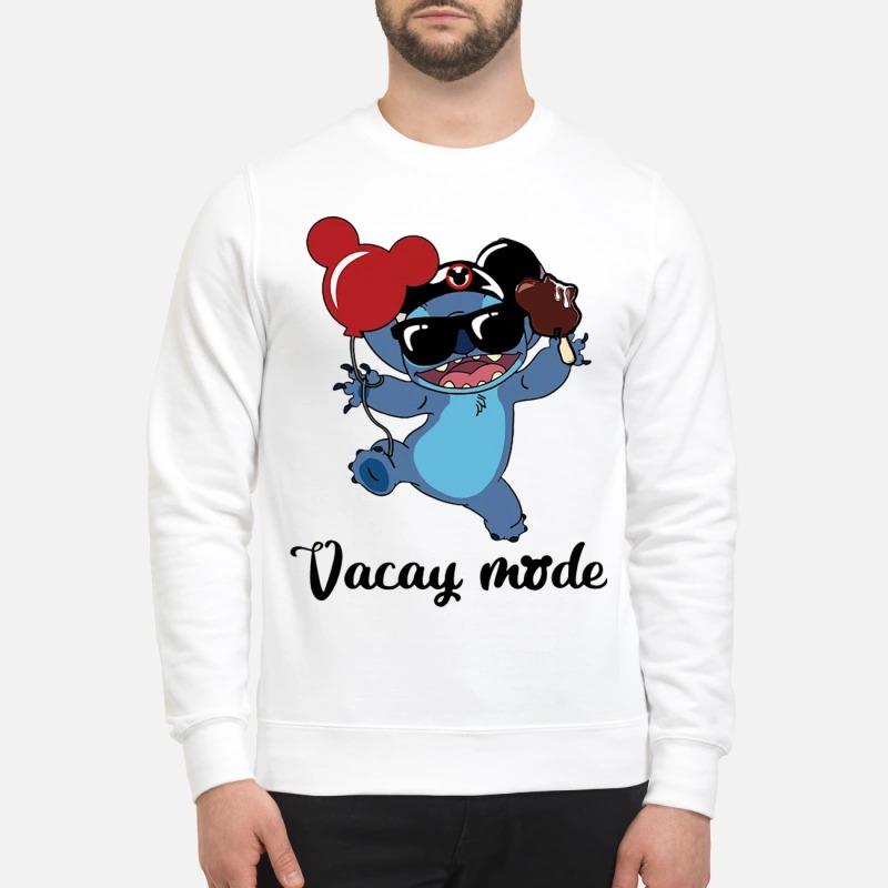 Stitch Mickey Vacay Mode Sweater
