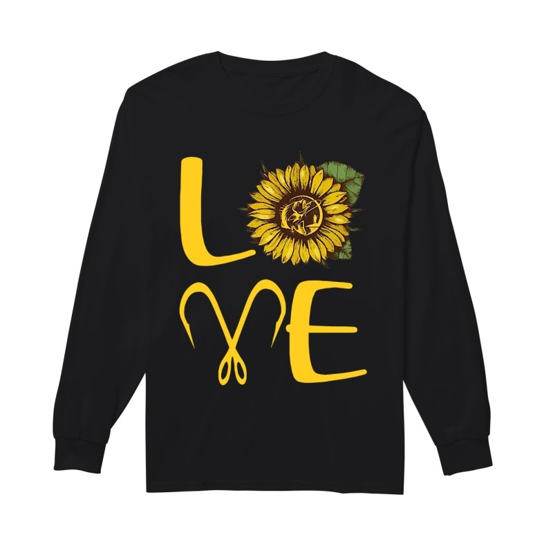 Sunflower Fishing Love Longsleeve Tee