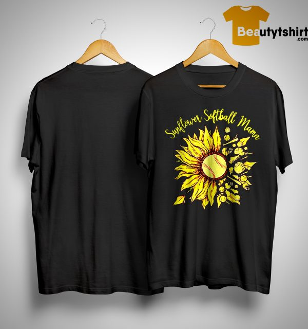 Sunflower Softball Mama Shirt