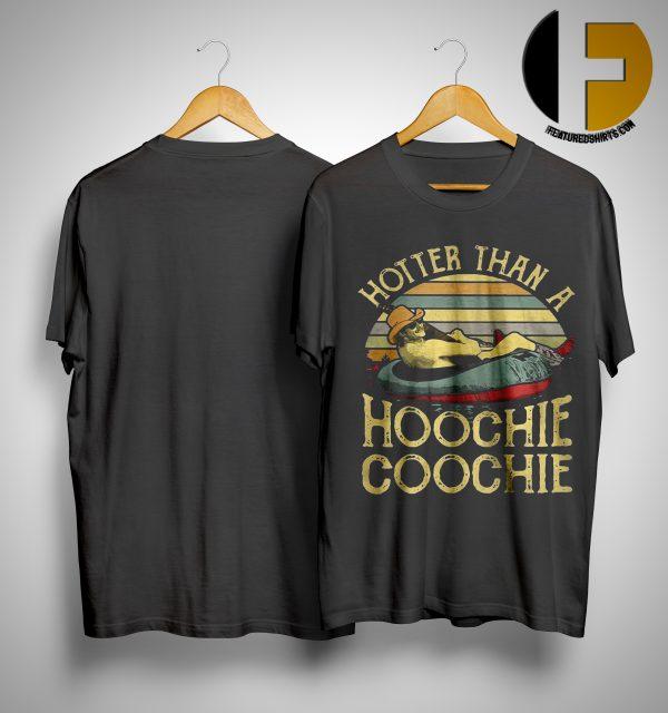 Sunset Vintage Alan Jackson Hotter Than A Hoochie Coochie Shirt