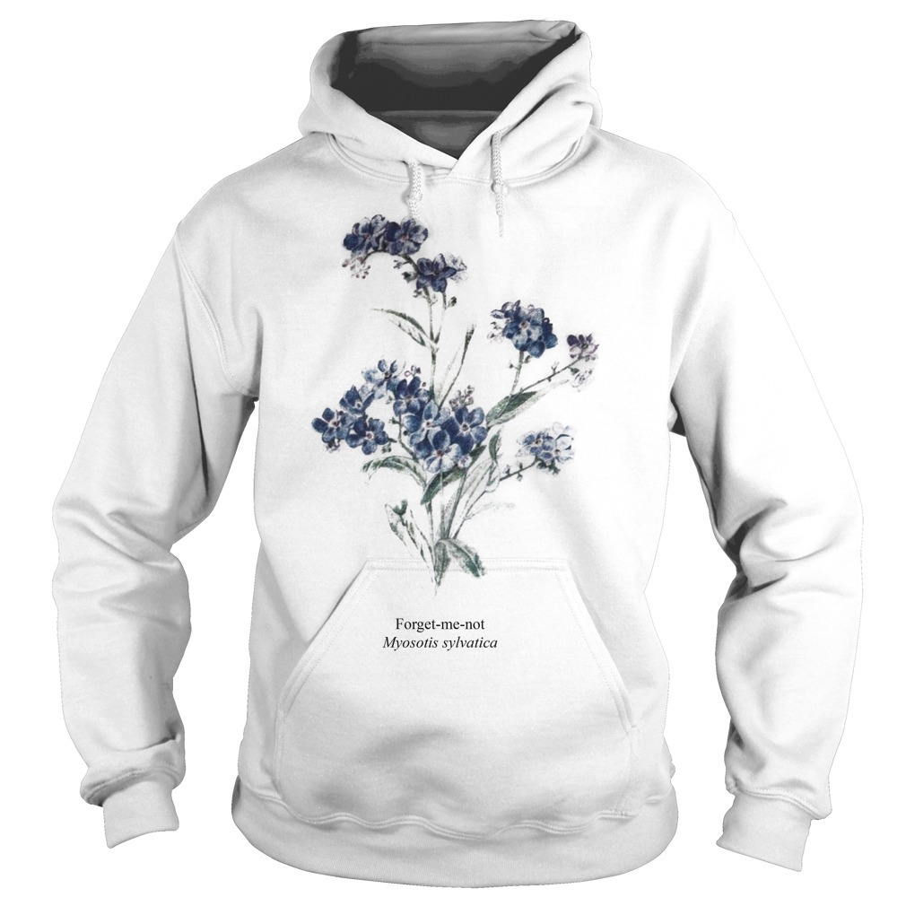 Taylor Swift Myosotis Sylvatica Forget Me Not Hoodie