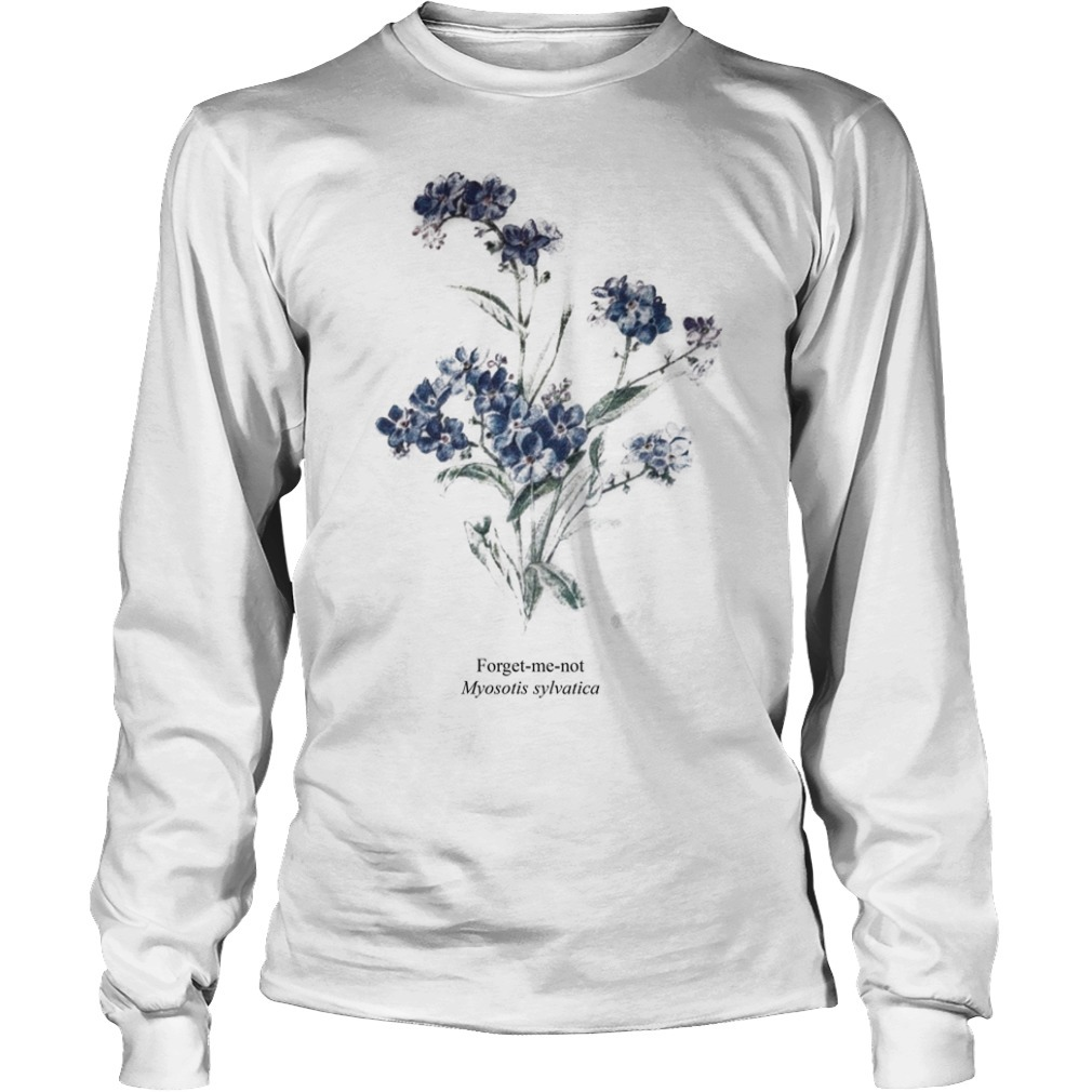 Taylor Swift Myosotis Sylvatica Forget Me Not Longsleeve Tee