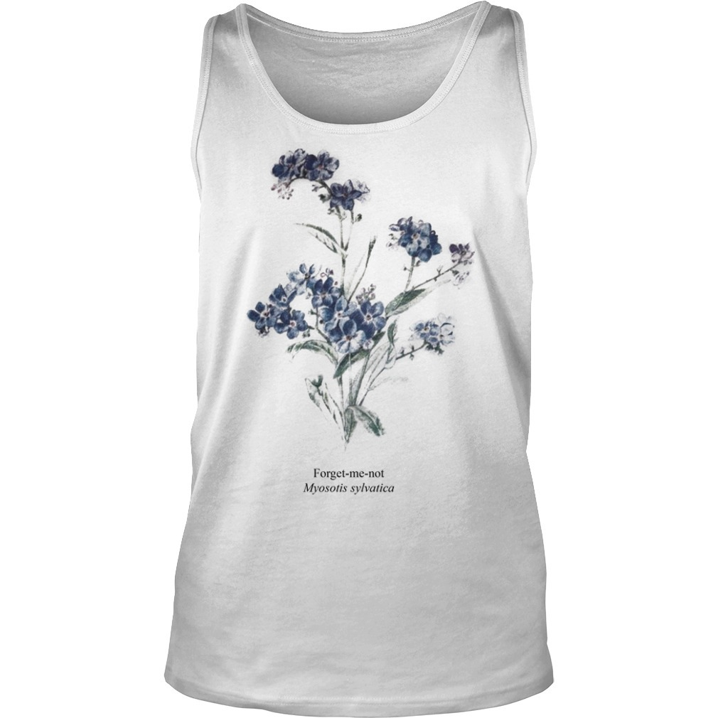 Taylor Swift Myosotis Sylvatica Forget Me Not Tank Top