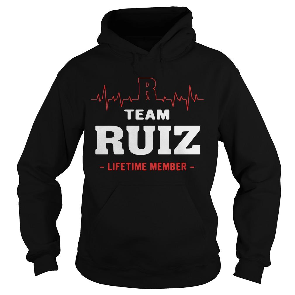 Team Ruiz Lifetime Member Hoodie