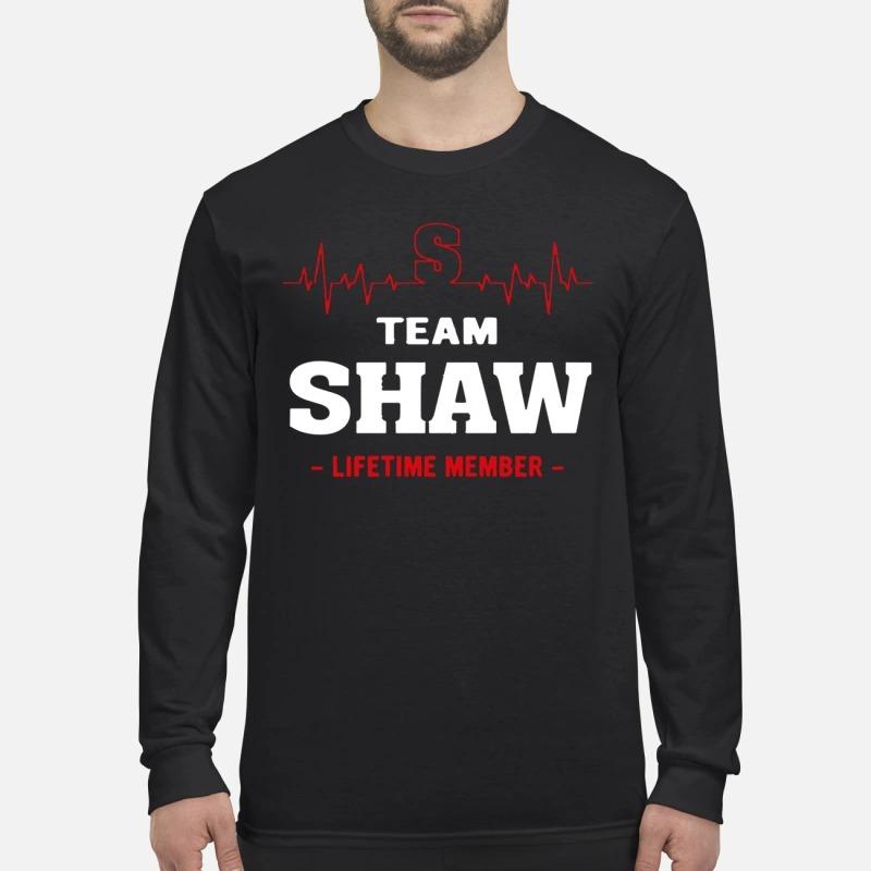 Team Shaw Lifetime Member Longsleeve Tee