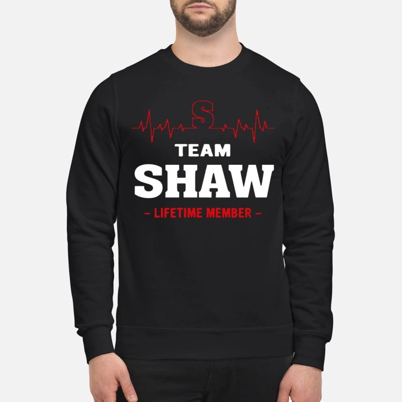 Team Shaw Lifetime Member Sweater