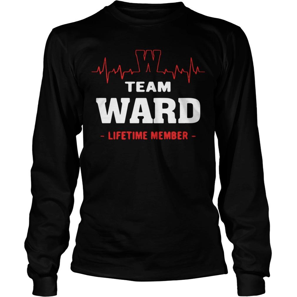Team Ward Lifetime Member Longsleeve Tee