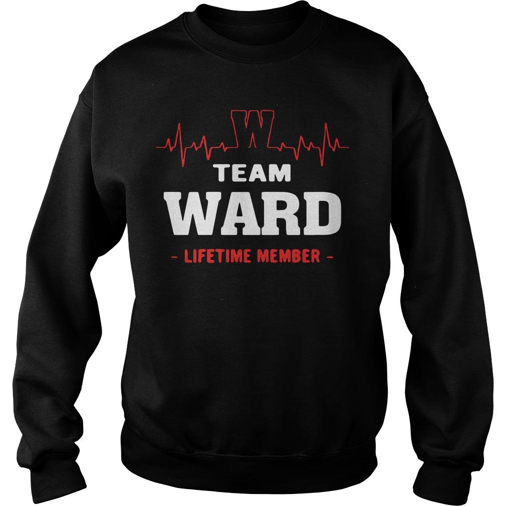 Team Ward Lifetime Member Sweater