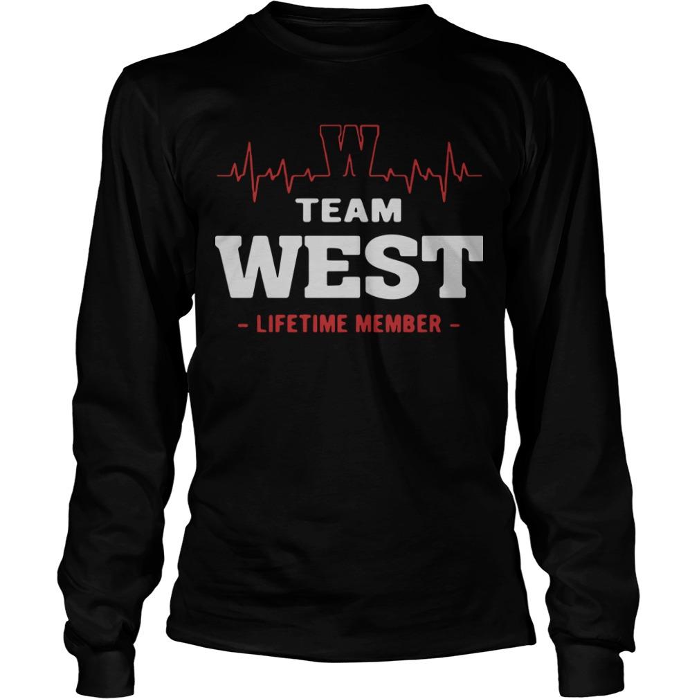 Team West Lifetime Member Longsleeve Tee