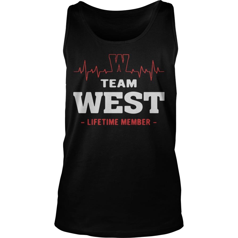 Team West Lifetime Member Tank Top
