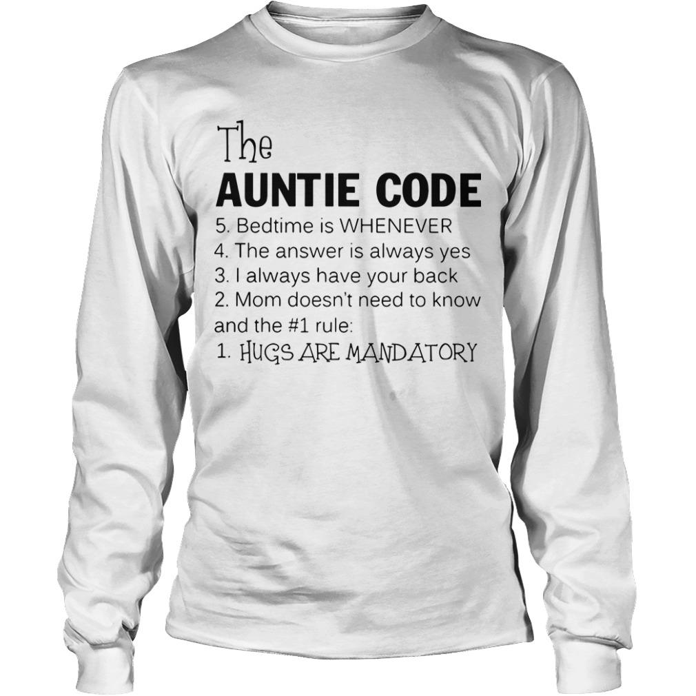 The Auntie Code Longsleeve Tee