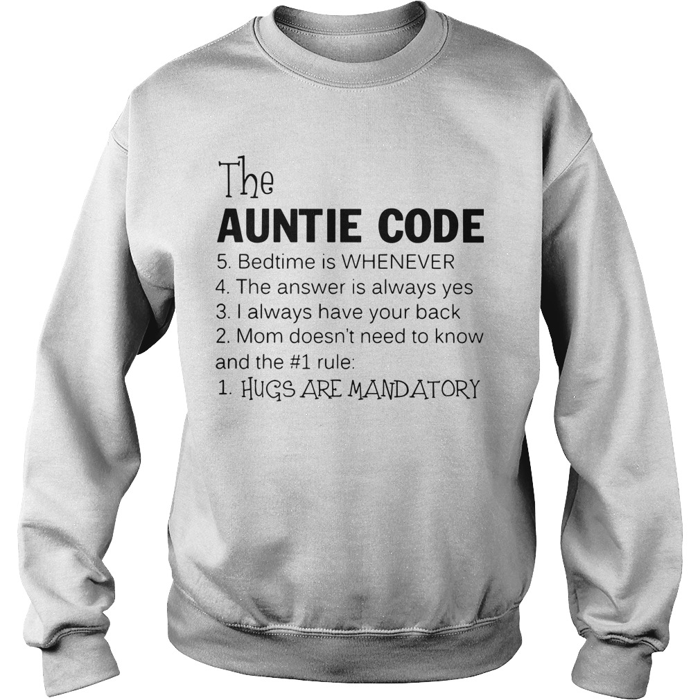 The Auntie Code Sweater