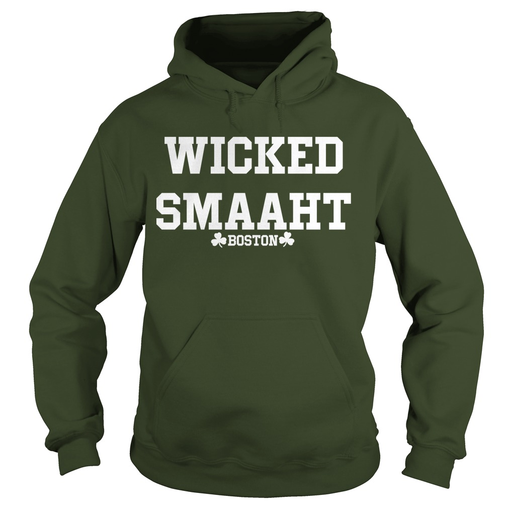 The Bill Russell Wicked Smaaht Boston Hoodie