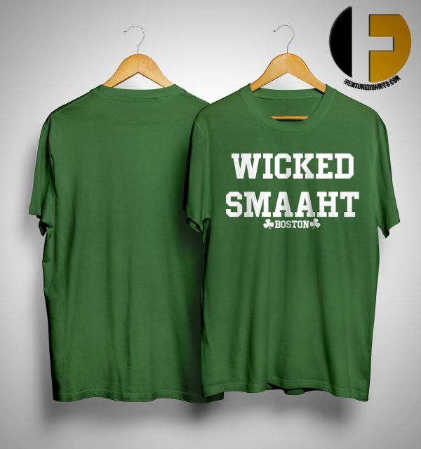 The Bill Russell Wicked Smaaht Boston Shirt