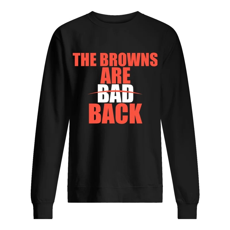 The Browns Are Bad Back Sweater