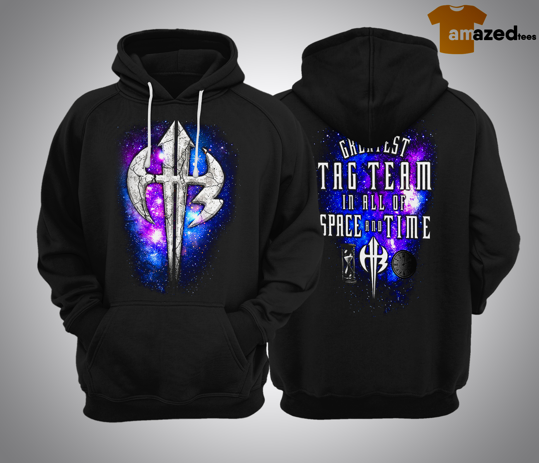 The Greatest Tag Team In All Of Space And Time HoodieThe Greatest Tag Team In All Of Space And Time Hoodie