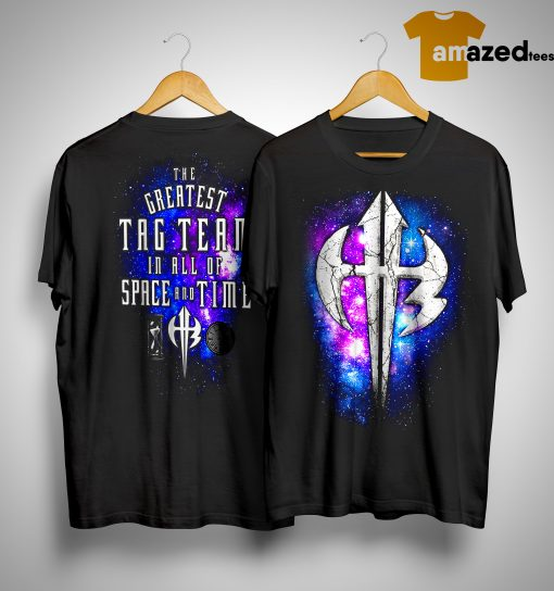 The Greatest Tag Team In All Of Space And Time Shirt