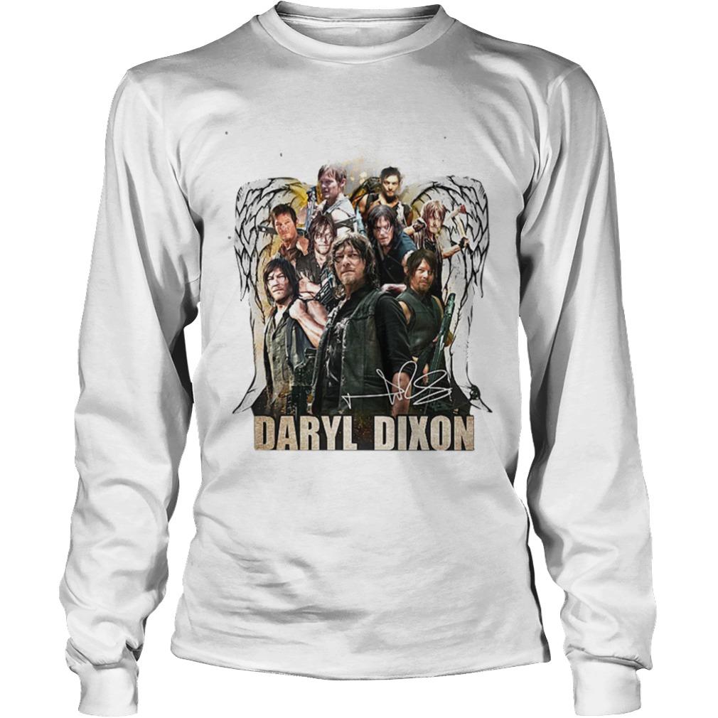 The Walking Dead Daryl Dixon Wings Signature Longsleeve Tee