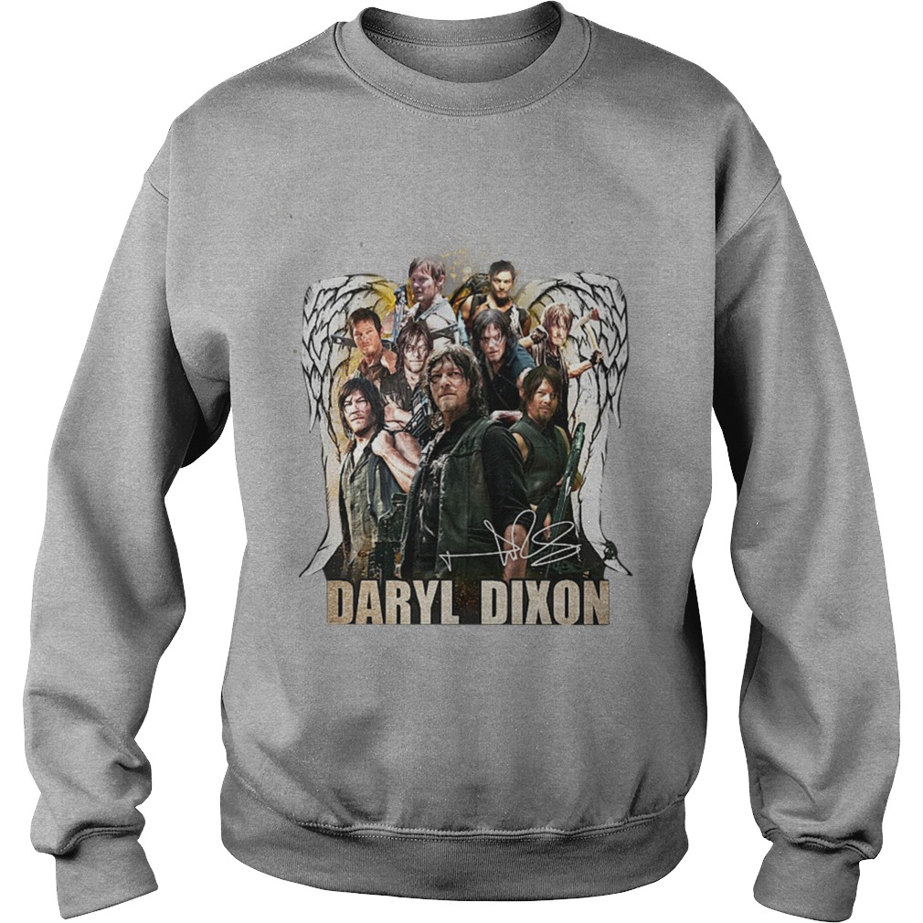 The Walking Dead Daryl Dixon Wings Signature Sweater