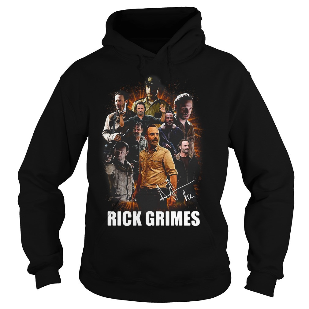 The Walking Dead Rick Grimes All Season Hoodie