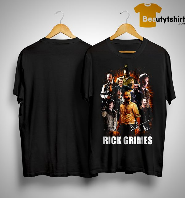 The Walking Dead Rick Grimes All Season Shirt