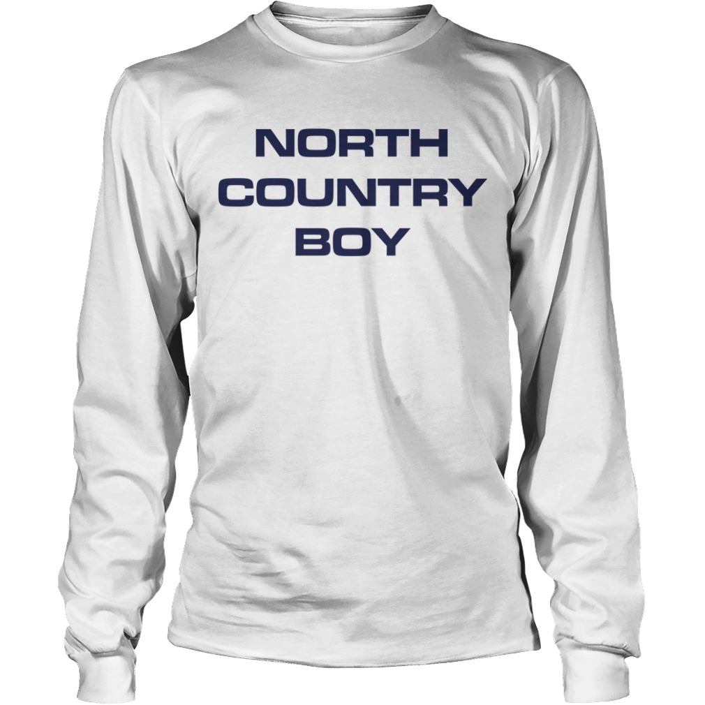 Tim Burgess North Country Boy Longsleeve Tee