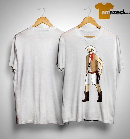Tim Duncan Cowboy Manu Shirt