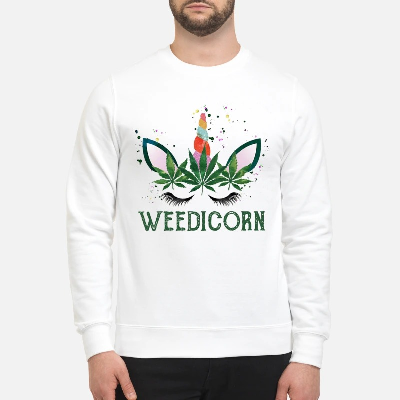 Unicorn Weedicorn Sweater