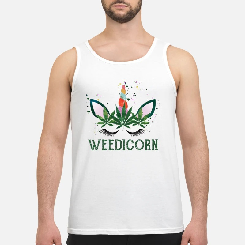 Unicorn Weedicorn Tank Top