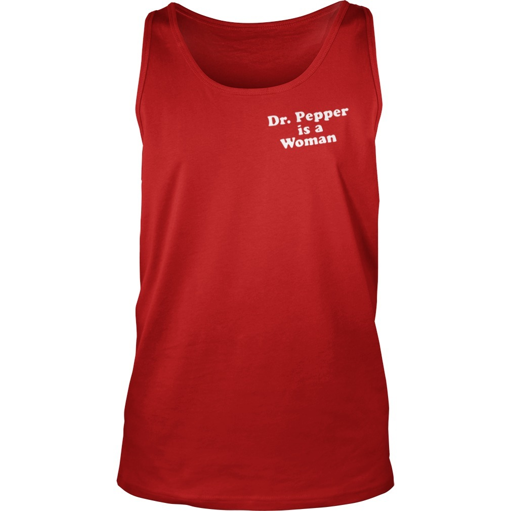 Viking Dr Pepper Is A Woman Tank Top