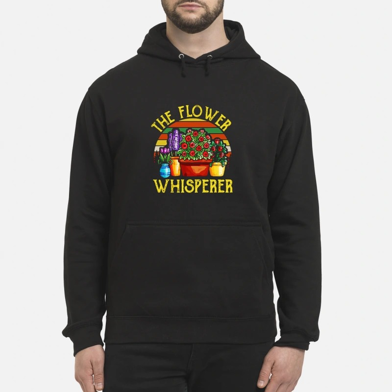 Vintage The Flower Whisperer Hoodie